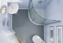 Small Bathrooms / Who says you have to sacrifice style for space?