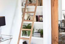 armadio con scala