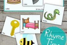 Kindergarten Rhyming Skill