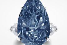 Diamond, Blue / Blue Diamonds Rings & Jewelry
