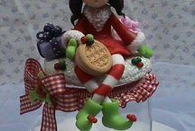 Porcelaine froide Noel