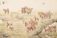 Chinese Horse  Paintings / Chinese Horse  Paintings from CNArtGallery.com http://www.cnartgallery.com/97-chinese-horse-paintings