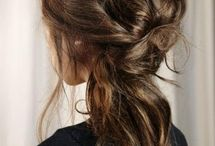 Updo with long length