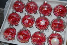 Christmas ornaments / by Vickie Salmons