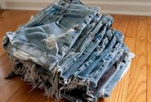 Denim Shorts ♥ / diy_crafts
