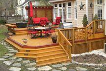 Decks, Patios, and Fences / by Niki Hunt
