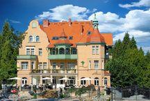 Hotel Amalia*** / Pragniemy zaprosić Państwa do urokliwego i romantycznego Hotelu Amalia***   Położenie jak i historia tego niezwykłego budynku czynią go idealnym miejscem do romantycznych spotkań, wypoczynku i relaksu. Do dyspozycji naszych gości oddajemy luksusowe pokoje, ekskluzywną kawiarnię z dwupoziomowym tarasem, stylową restauracją, gdzie miła i kompetentna obsługa z pewnością zaspokoi najbardziej wyszukane gusta.