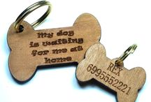 Wooden Dog Tags