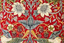 William Morris flowers