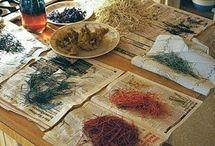 Wrennwood plant based dyes