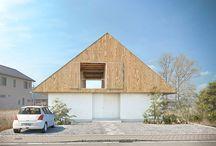 House Mie / 大きな屋根の家 / 集合住宅