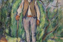 Paul Cézanne / Paul Cézanne (19 de enero de 1839-22 de octubre de 1906) fue un pintor francés postimpresionista, considerado el padre de la pintura moderna, cuyas obras establecieron las bases de la transición entre la concepción artística decimonónica hacia el mundo artístico del siglo XX, nuevo y radicalmente diferente.