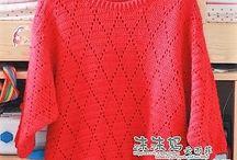 Пуловеры вязаные