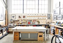 My Studio ~ / This is my ideal space to be creative! / by Adam Ragan