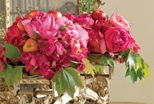 Decorating with Flowers / flowers in the home