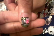 My nails, Made by me! ♥ / THESE ARE HAND PAINTED NAIL, ALL MADE BY ME. I CAN DO ANY NAIL DESIGN. THESE ARE NOT THE UNIQUE DESIGNS! ;D