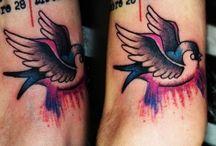 Old School Tattoo / Old school tattoo by tattoo artist Manos.. You can choose your tattoo idea at Acanomuta Tattoo Studio