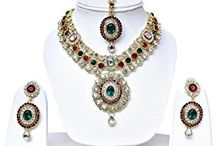 Elegant Traditional Deepika Padukone Inspired Designer Kundan Wedding Party Jewellery Set
