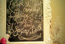 chalk boards and sayings