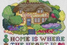 Cross Stich Ideas / An album made of ideas for cross stiching projects.