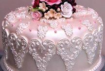 különlegesen szép torták
