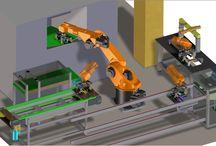 Progettazione / Sistemi CAD tridimensionali di ultima generazione che permettono una significativa riduzione di errori di progettazione.