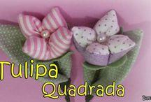 vídeos tulipanes patchwork