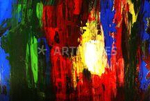 Abstrakte Malerei von Brigitte König