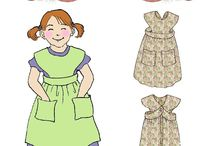 Girls' Patterns by Hint of History / Vintage-inspired sewing patterns for girls!