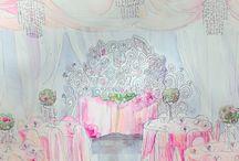 эскизы свадьбы