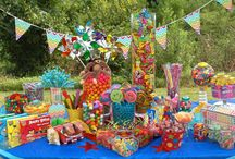Kids Colorful Candy Creation - Candy Buffet