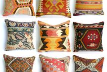 Kilim pillows / Bring style and history to your home with the kilim pillow covers. It is the easiest way to create a Bohemian decor for your home!
