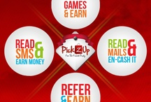 Pickzup / Pickzup - An Entertainment and incentive based online portal were users can earn benefits by Playing Games and having fun and get Prepaid Mobile/DTH recharge, Money Withdrawal by cash and Purchase or redeem products with up to 80% discount.Users can earn money and other gifts by playing online games and partcipating in contests.