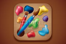 App Icon Illustration / Illustration of vector app icon