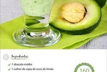 vitamina/ suco