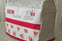 Sewing machine cover / Tutorials and photos