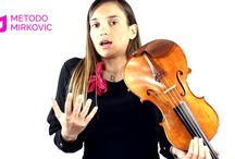 Kristina Mirkovic / Metodo Mirkovic is a worldwide violin school that is a result of a following elements: PhD research, teaching and a concert activity, a family tradition, and a discography production. Available in nine languages, you don't actually wait to learn to play in order to start to play...you play since from the start! The course includes simultaneous reading and execution, all followed by original music arrangements for each exercise. LET'S GO FOR IT!