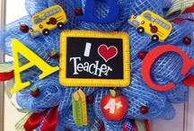 Teacher's wreath