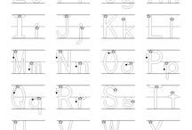 ABC printables / by Shannon Oatsvall Konz