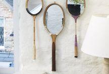 Raquette - Recycler et décorer
