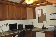 Home Office Luxury / Why work at the dining room table when you can spend your time in a beautifully appointed home Office.  Well, there simply is no reason.  Woods Home Improvements has created offices that you actually look forward to working in.