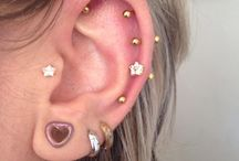 Piercings!! / Piercings feitos por mim, e inspirações!!!