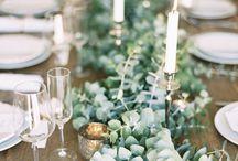 Mariage décoration eucalyptus