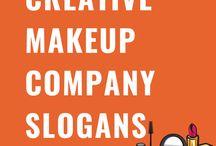 Creative Makeup Company Slogans