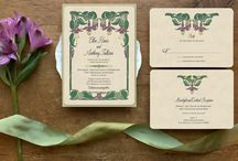 Art Nouveau Wedding Invitations / Art Nouveau wedding invitations and vintage wedding invitations all custom from GoGoSnap! Unique and elegant for your specialy day, whether you are looking for Downton Abbey inspired wedding invitations or elegant Art Nouveau wedding invitations and vintage inspired save the date cards.... Go Go Snap has you covered!