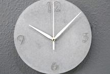 Dekorbeton Óra / Concrete Clock