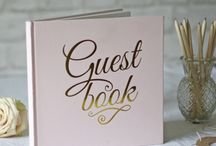 Wedding Guestbooks / Cute ideas for wedding guestbooks