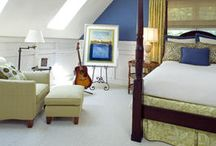 bedroom Ideas for our tiny space / by Lori Bostelman