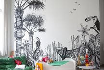 декор стен-роспись