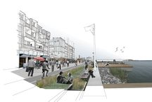 Representación / Dibujos de arquitetura, representación de espacios, representación de ideas arquitectónicas, renders, croquis